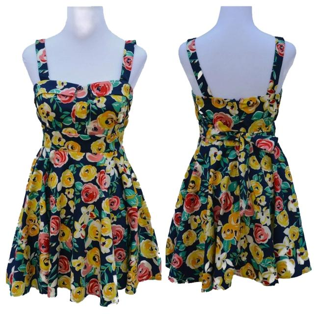 Preload https://item3.tradesy.com/images/modcloth-multicolor-vintage-abstract-rosse-floral-print-above-knee-short-casual-dress-size-os-one-si-3503257-0-0.jpg?width=400&height=650
