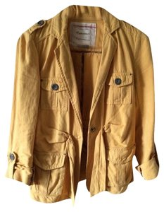 Anthropologie Mustard Yellow Blazer