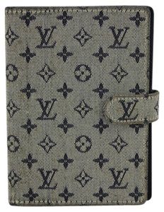 Louis Vuitton Louis Vuitton Mini Lin Blue Grey Idylle Agenda PM LVALM1