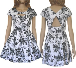 Modcloth short dress black white on Tradesy