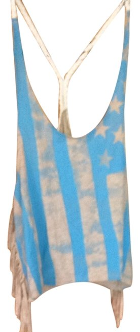Preload https://item1.tradesy.com/images/forever-21-taupe-blue-cream-tank-topcami-size-12-l-3504250-0-0.jpg?width=400&height=650