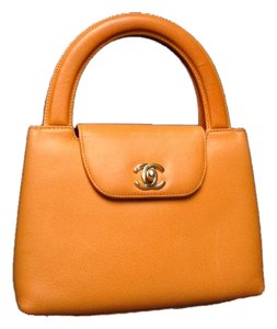 Chanel Made In France Serial Number: 5207867 Comes With Its Dustbag. Satchel in yellow