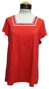 Coral Bay T Shirt Redish Orange