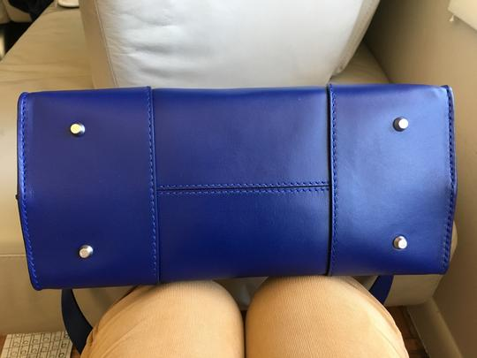 Alexander McQueen Satchel in Blue