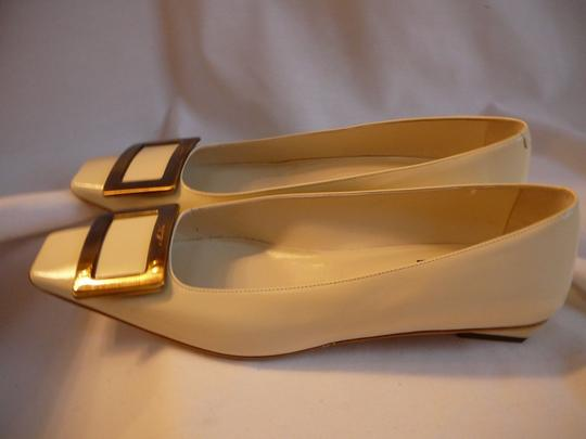 Roger Vivier 39.5 Chanel Chanel 40 Gucci 39.5 Manolo 39.5 Ivory Pumps