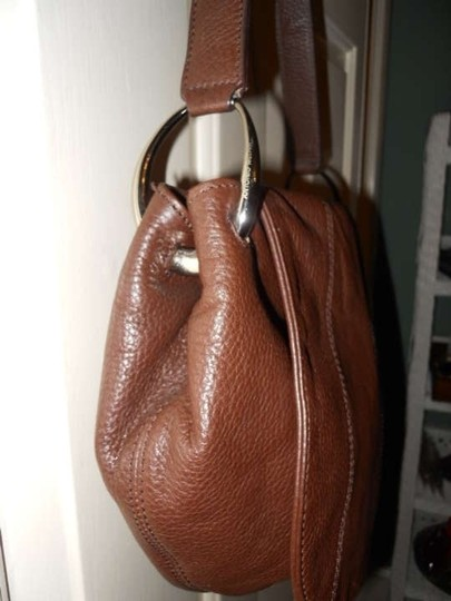 Antonio Melani Leather Hobo Bag