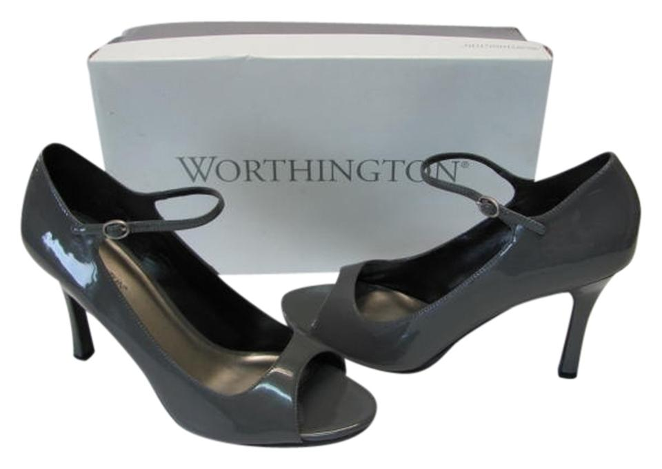 Worthington Gray New In Box Excellent Condition Pumps Size US 10 Regular  (M, B) 65% off retail