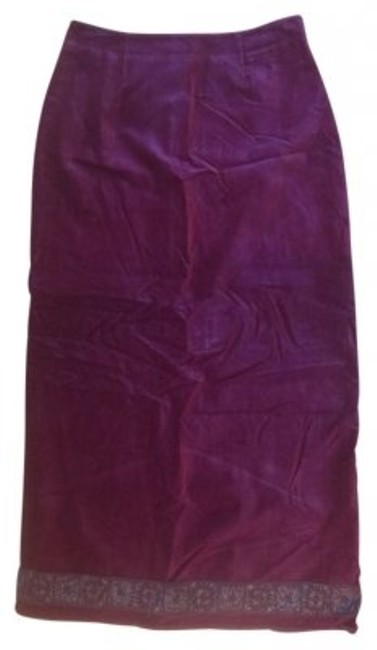 Other Maxi Skirt Burgundy