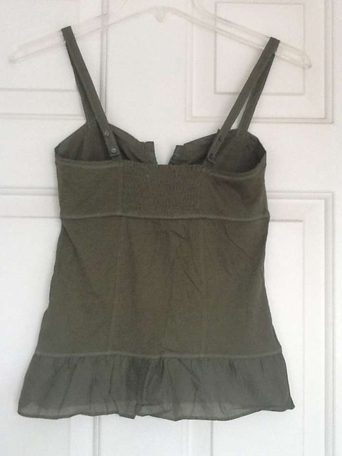 American Eagle Outfitters Top Olive Green