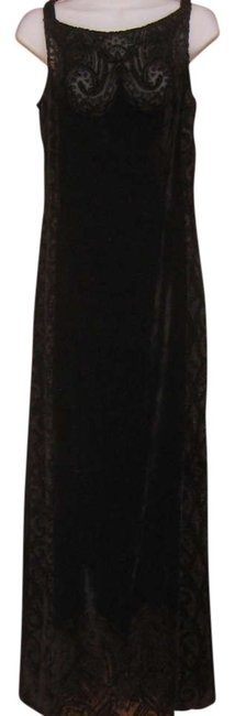 Preload https://item2.tradesy.com/images/carole-little-black-velvet-silky-long-night-out-dress-size-8-m-350921-0-0.jpg?width=400&height=650