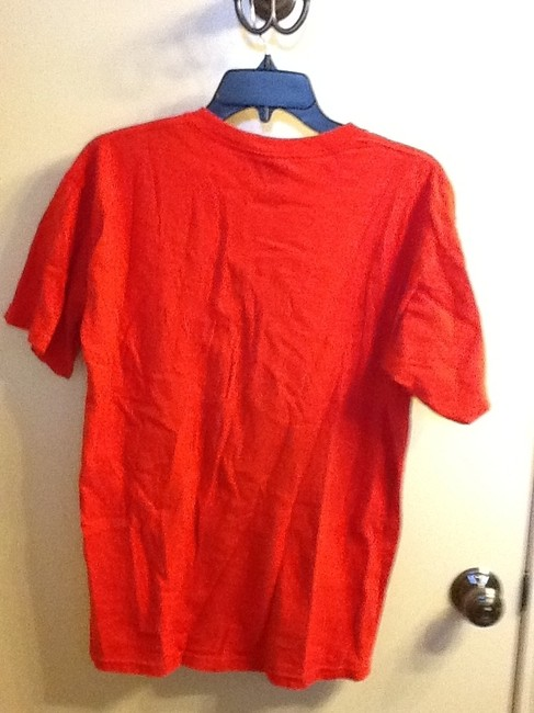 Other Comfortable Bulldog Sleeve Summer Casual Loose Fit T Shirt Red