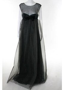 Chanel Rare Empire Sleeveless Silk Sheer Tulle Wedding Dress