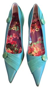 Dolce&Gabbana Teal Pumps