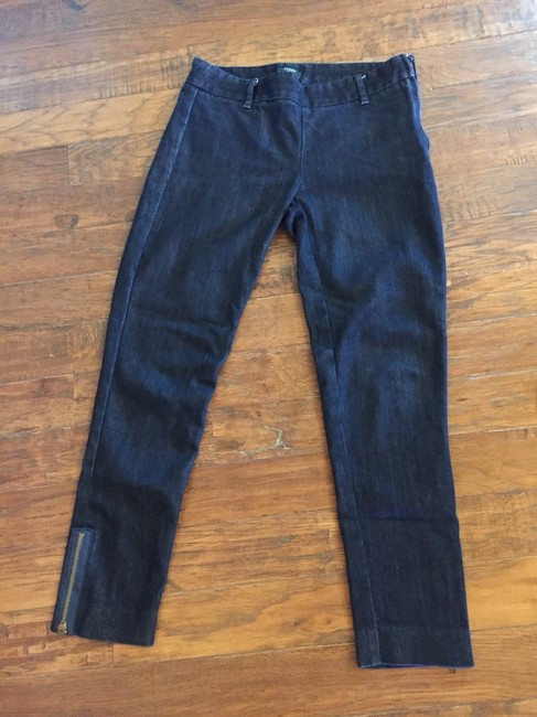 J.Crew Capri/Cropped Denim-Dark Rinse