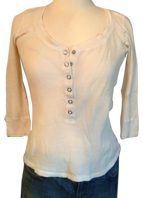 Preload https://item1.tradesy.com/images/juicy-couture-cream-tee-shirt-size-8-m-3510580-0-0.jpg?width=400&height=650