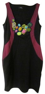 Other Embellished Embellished Embroidered Bodycon British Fashion Cute Girly Dress