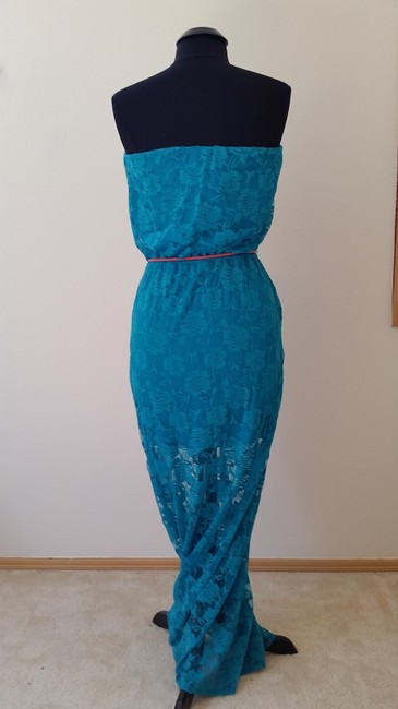 Turqouis Maxi Dress by Just For Wraps