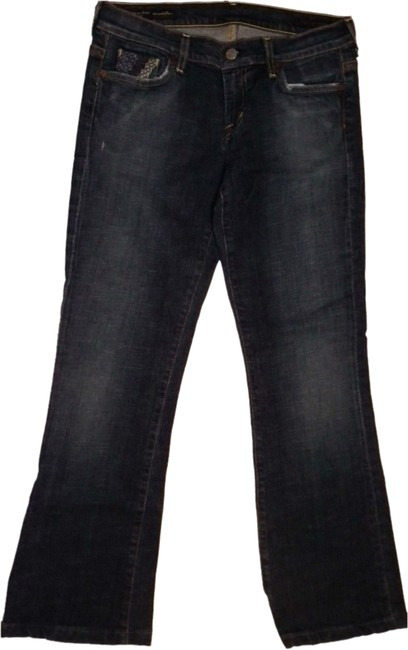 Citizens of Humanity Denim Made In Usa Straight Leg Jeans