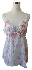Gap Floral Babydoll Summer Top White