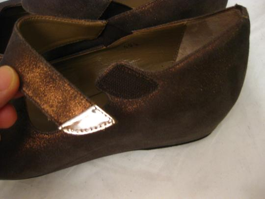 Anyi Lu bronze Wedges