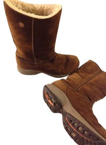 Merrell Brown Suede Boots