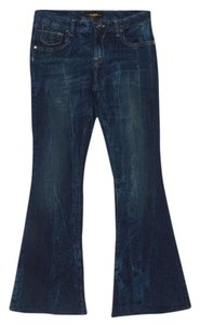 South Pole Collection Flare Leg Jeans-Acid
