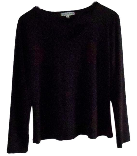 Preload https://item3.tradesy.com/images/vintage-suzie-black-sweaterpullover-size-16-xl-plus-0x-3512722-0-0.jpg?width=400&height=650