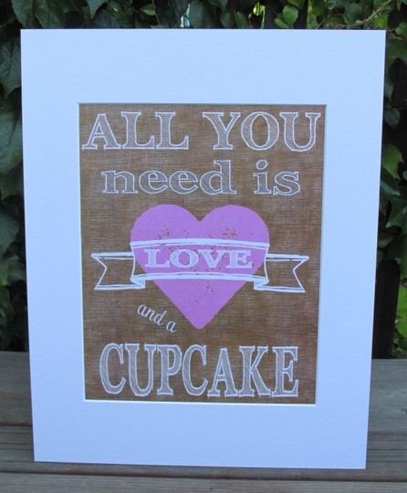 Set Of Rustic Wedding Signs-all You Need Is Love And A Cupcake & Come As You Are Stay As Long As You Can We're All Here
