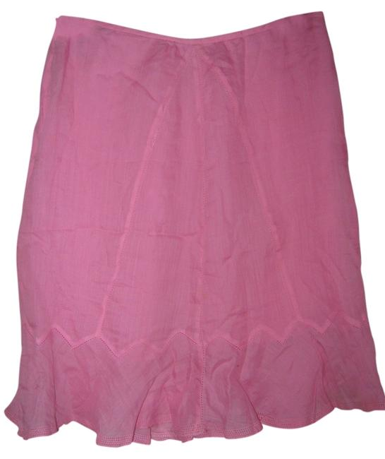 Preload https://item5.tradesy.com/images/dkny-pink-knee-length-skirt-size-4-s-27-3513004-0-0.jpg?width=400&height=650