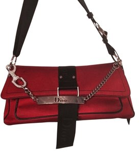 Dior Vintage Crystal Chains Shoulder Bag