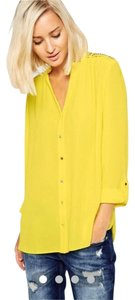 River Island Top Yellow