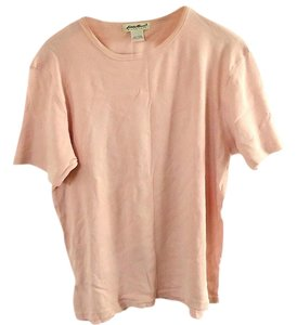 Eddie Bauer Cotton T Shirt pink