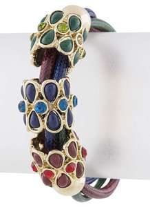 Unknown Multi Color Jewel Cord Bracelet