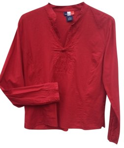 French kuff Top red