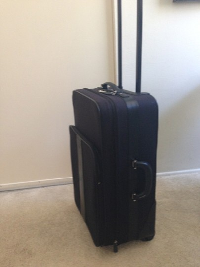 Coach Luggage. Black Travel Bag
