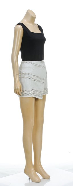Parker Mini Skirt Gray