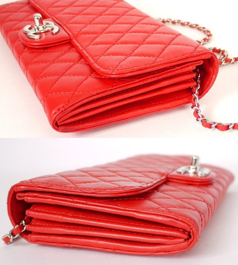 Chanel Evening Bags Special Occasion Chain Purse Red Clutch
