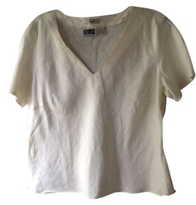 edward irish linen Top cream