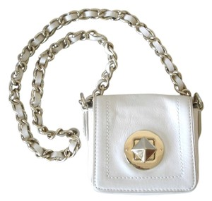 Kate Spade Chain Strap Chunky Chunky Chain Strap Gold Small Small Mini Cross Body Bag