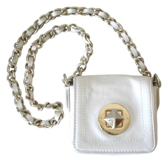 Preload https://item5.tradesy.com/images/kate-spade-chunky-chain-mini-ivory-leather-cross-body-bag-3514204-0-1.jpg?width=440&height=440