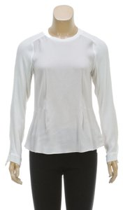 Rebecca Taylor Top Cream and Taupe