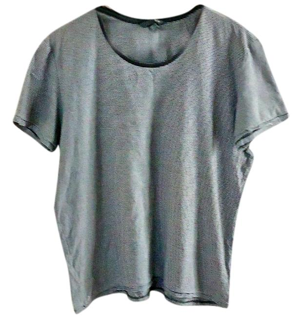 H&M Striped T Shirt grey