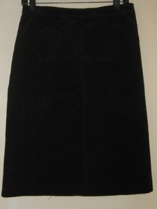 Theory Corduroy Skirt Black