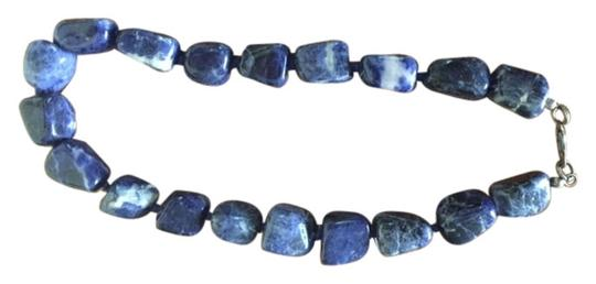 Other Chunky blue necklace