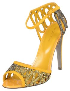 Sergio Rossi Yellow Sandals
