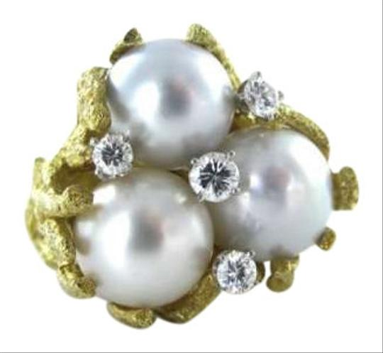 Preload https://item3.tradesy.com/images/18kt-yellow-gold-3-medium-pearl-4-diamond-40atw-ring-65-cocktail-146dwt-necklace-351597-0-0.jpg?width=440&height=440