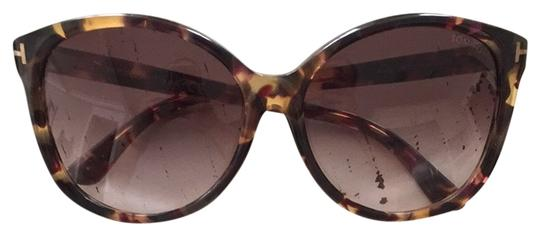 Tom Ford Tom Ford Alicia Sunglasses In Havana brown
