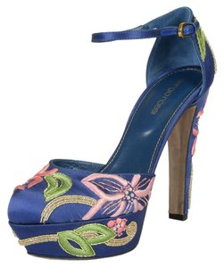Sergio Rossi Multi-Color Platforms