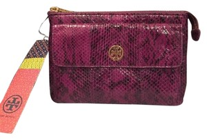 Tory Burch Wallet purple Clutch