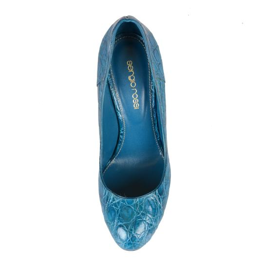 Sergio Rossi Blue Pumps